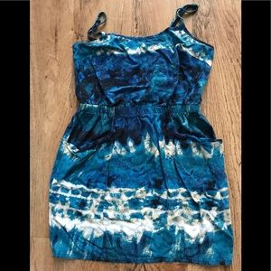 Forever 21 blue/white dress. Size small.